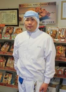 丸彦製菓株式会社 専務取締役-山田-邦彦さん
