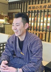 大鷹の湯 総務部長-飯沼-鷹佑さん