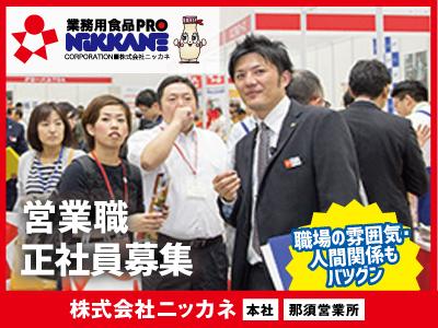 株式会社ニッカネ【営業職】の求人情報