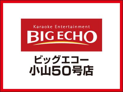 ビッグエコー小山50号店【フロアスタッフ】の求人情報